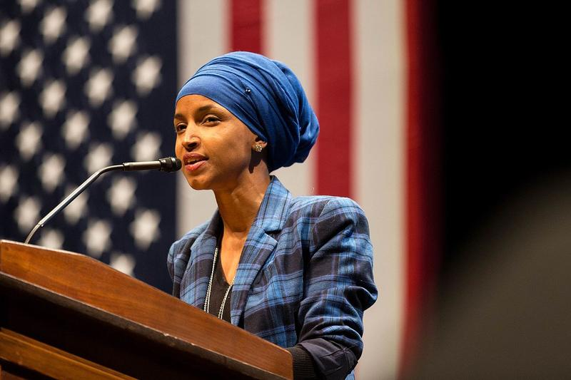 Rep. Ilhan Omar of the Minnesota House of Representatives is the first Somali American legislator in the United States.