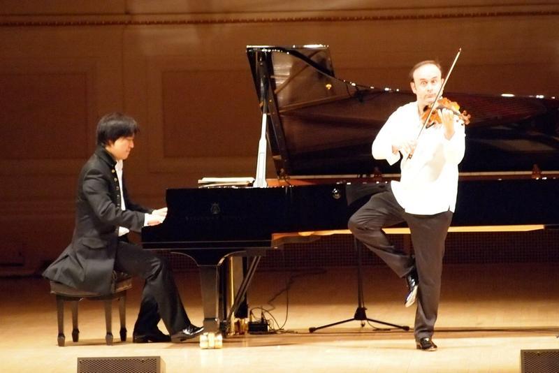 Igudesman & Joo at Carnegie Hall in 2012