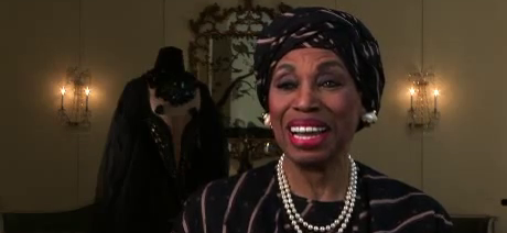screencap of the National Endowment for the Arts' Opera Honors interview with Leontyne Price
