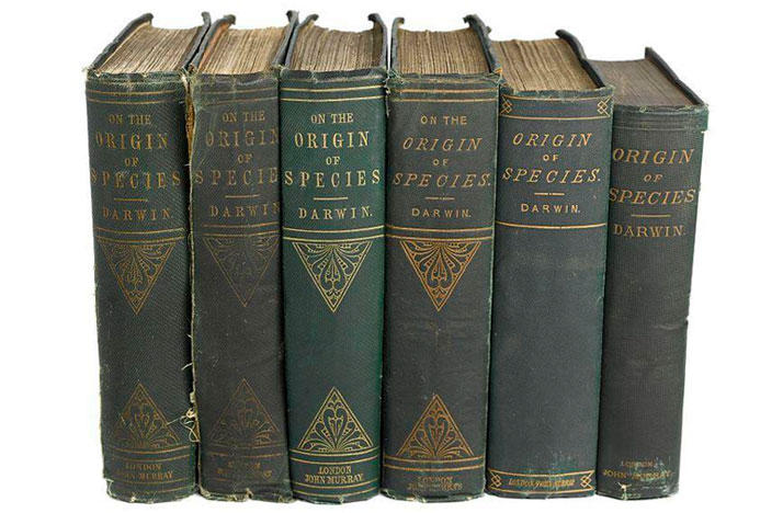 Charles Darwin On the Origin of Species books