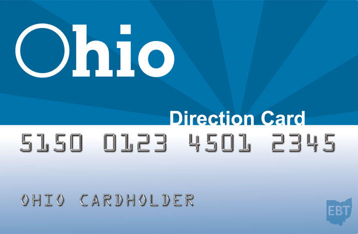 Ohio Food Stamp ETB Direction Card