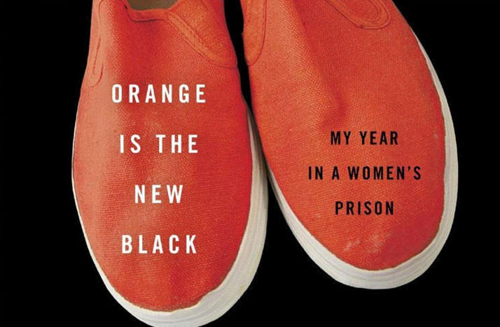 Cover of Piper Kerman's book, Orange is the New Black: My year in a Women's Prison.