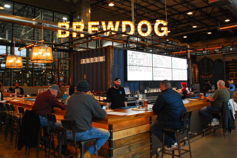Brewdog opened its first U.S. brewery in Canal Winchester in February 2017.