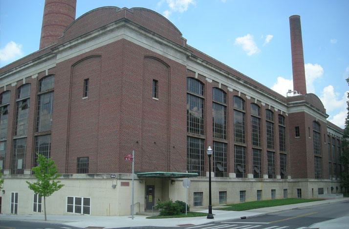 The McCracken Power Plant on Ohio State's campus.