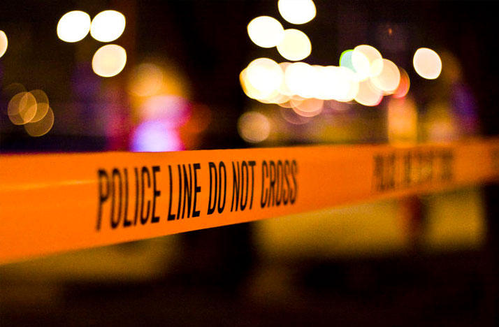 police tape - crime scene
