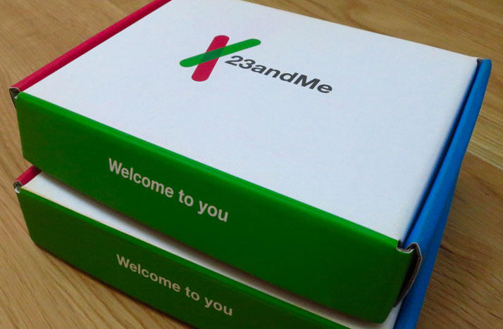 23andMe Genetic test