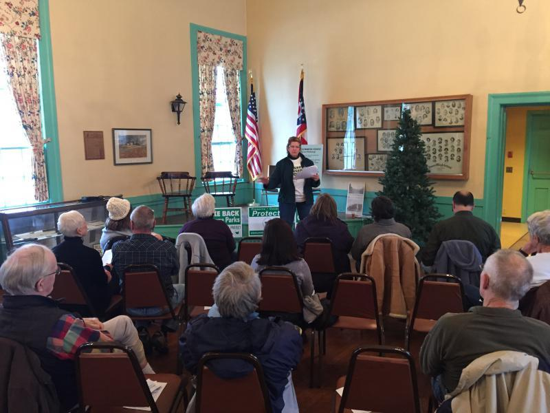 """The group """"Protect Geauga Parks"""" says it's concerned about the proposed legislation, which would affect park districts statewide."""
