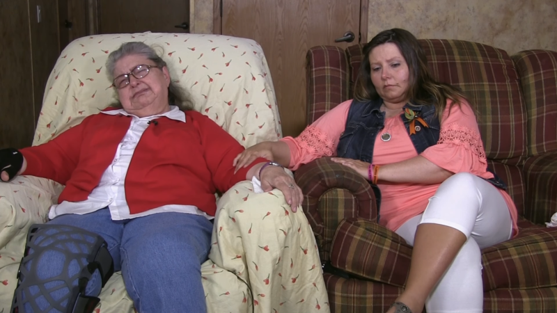 Geneva Rhoden and Teresa Grebing, surviving relatives of the Rhoden family killed in Pike County, ask for information.
