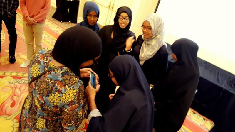 Columbus' Somali high school graduates gathered for a ceremony last year at the Hilton in Easton.