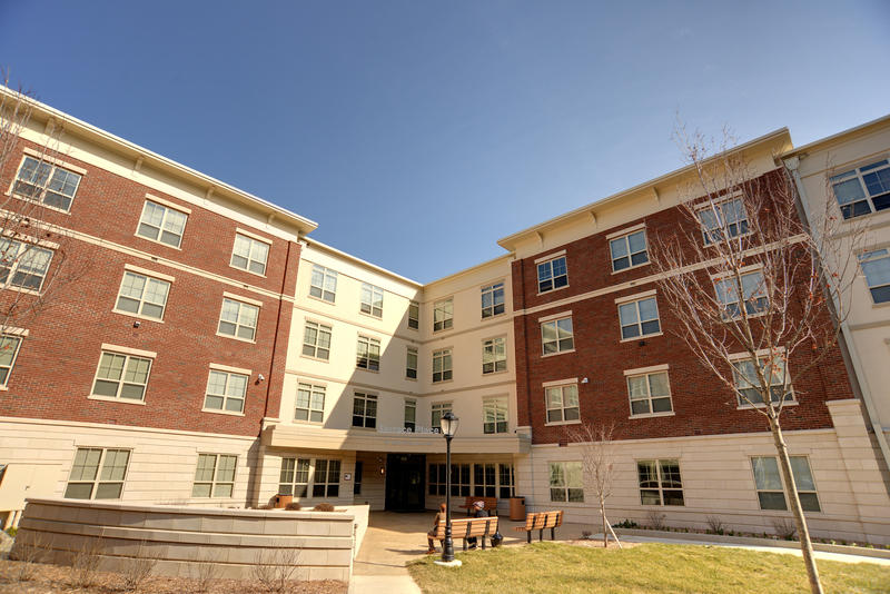Terrace Place opened as a collaboration between the Community Housing Network and Ohio State.