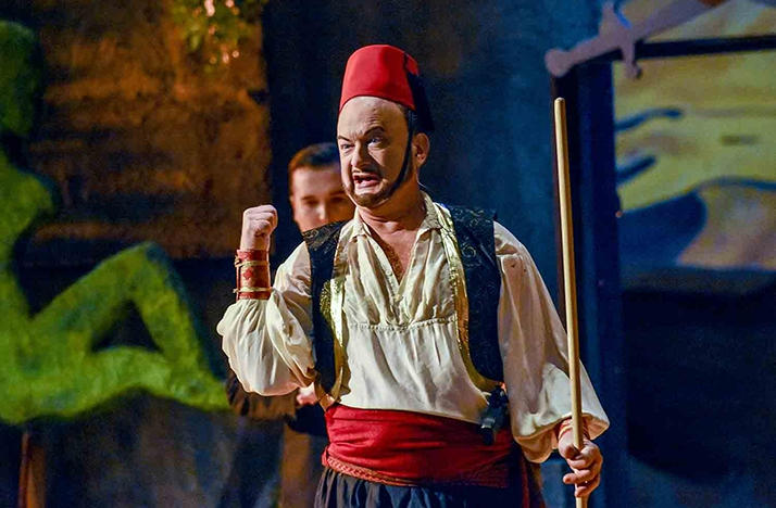 Based on The Abduction from the Seraglio, Opera Columbus presented Mission: Seraglio in January.