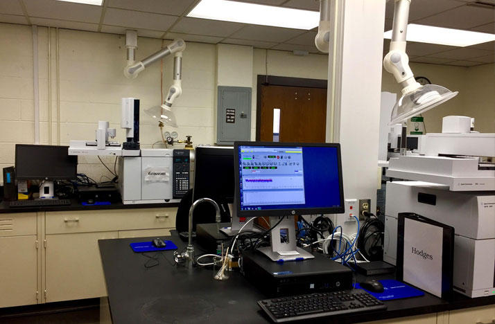 The new BCI drug testing lab in Springfield, Ohio.