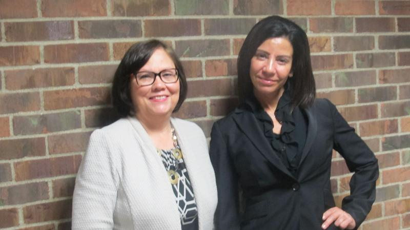 Denise St. Claire & Judith Goldstein with Columbus Area Mentoring Program.