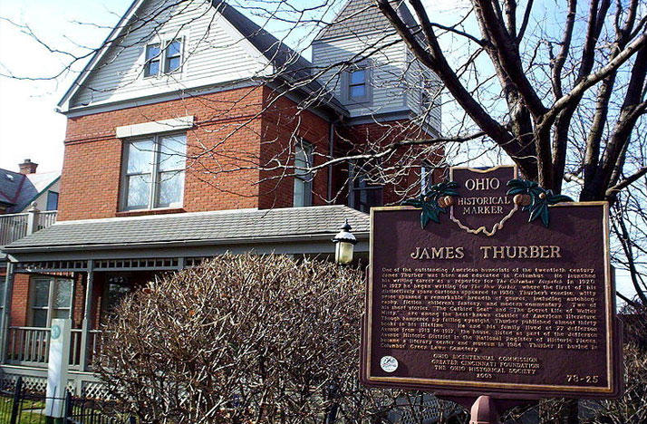 The Thurber House is a non-profit literary center, museum, and the childhood home of James Thurber.