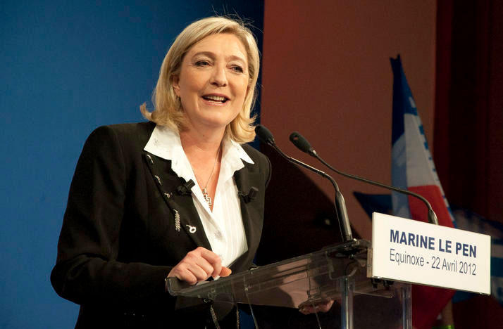Marine Le Pen in 2012