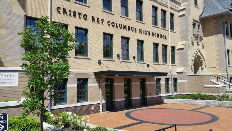 Cristo Rey Columbus High School began in 2013, and now it's graduating its first class of students.