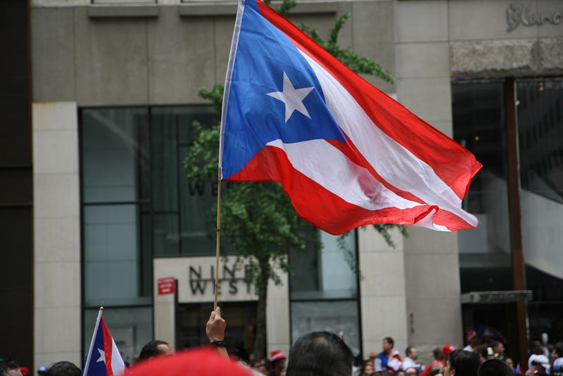 The Flag of Puerto Rico