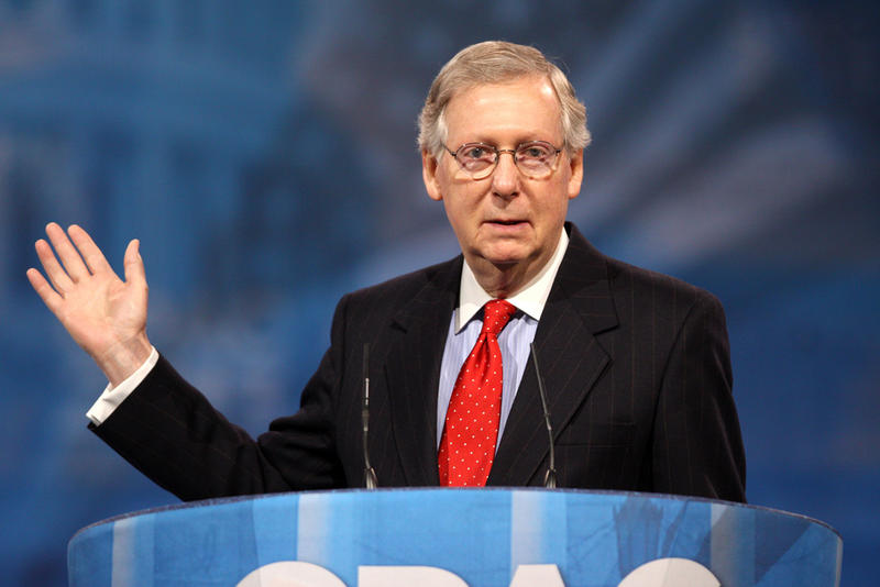 Senator Mitch McConnell of Kentucky, Majority Leader and a Leading Force to Pass the Republican Health Care Bill