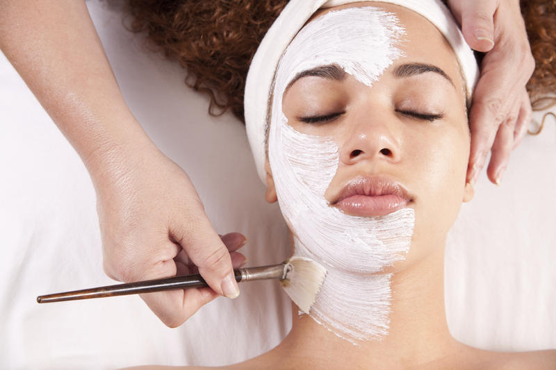Facial treatments are one method used for self-care.