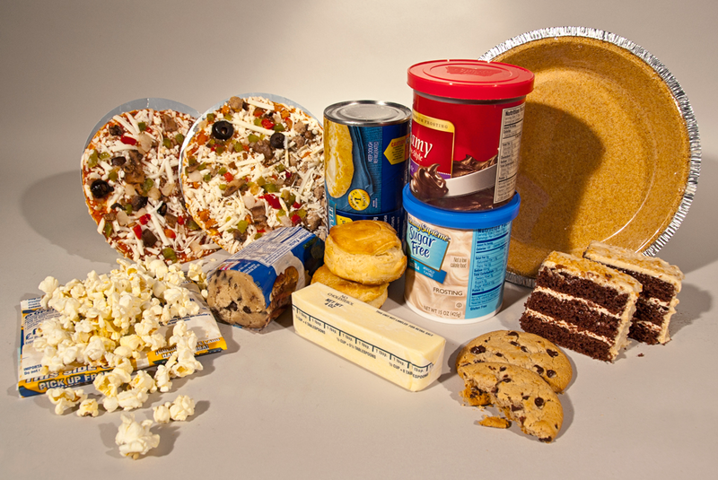 These foods are commonly known to contain trans fats.
