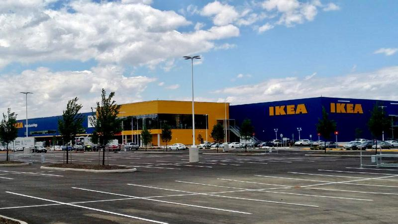 The new IKEA locations is expected to attract thousands in the next couple of days.
