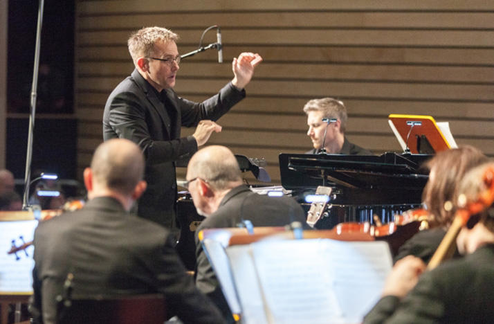 Craig Hella Johnson conducts the world premiere of 'Considering Matthew Shepard,' February 2016 in Austin, Texas.