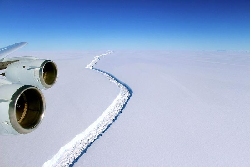 Antartica's Larsen C Ice Shelf