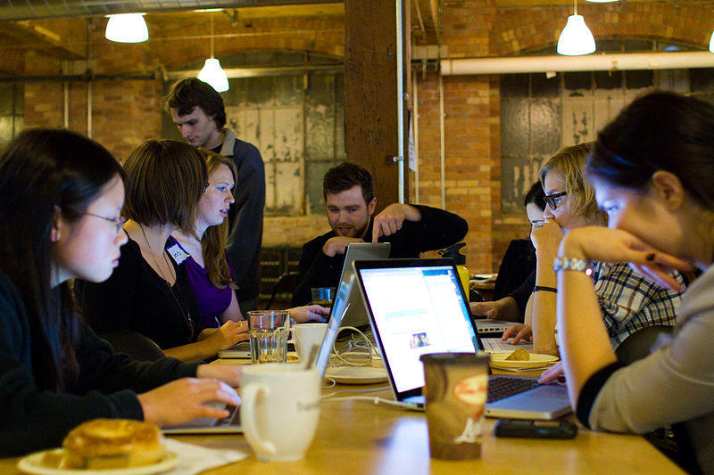 Ladies Learn Code event in Toronto
