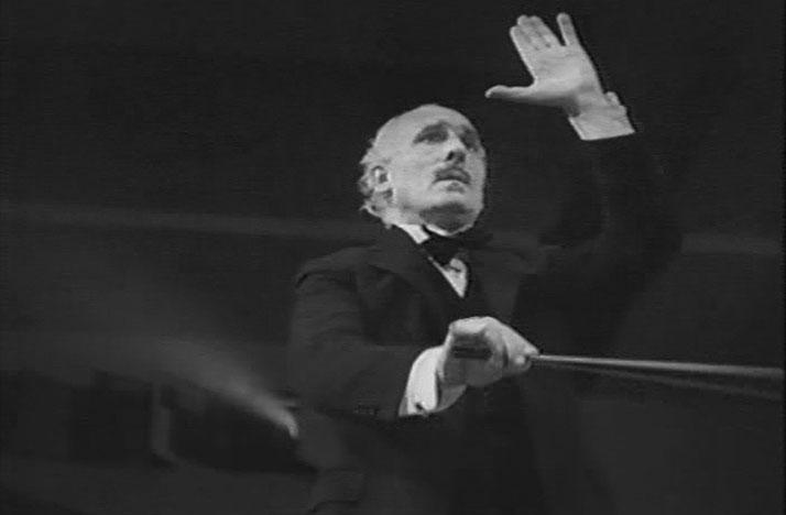 Arturo Toscanini in the 1944 film Hymn of the Nations