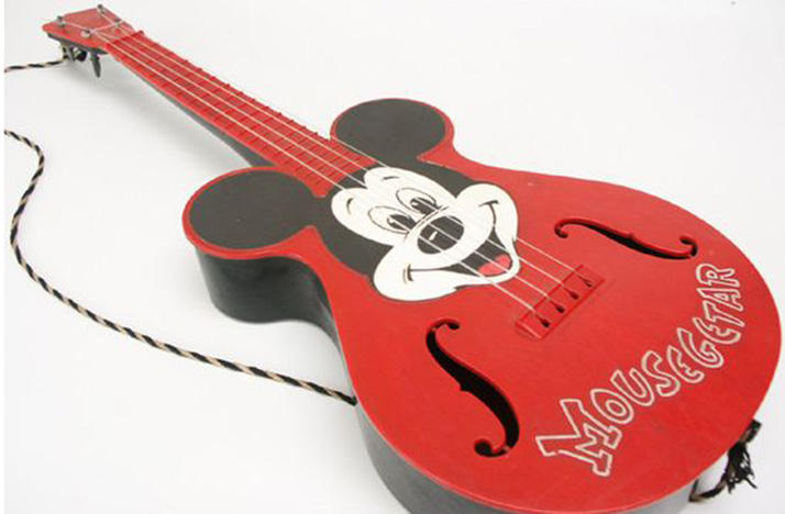 """John Rittmeyer had a """"Mousegetar"""" like this one as a child."""