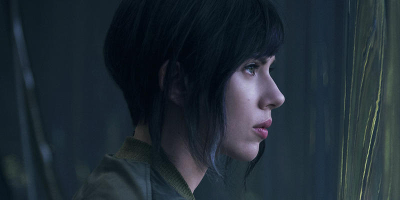 The film adaptation of the Japanese cartoon Ghost In The Shell was criticised for casting Scarlett Johansson in the lead role.