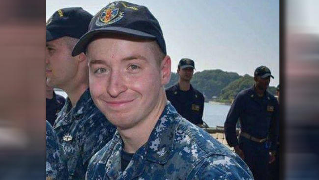 Family photo of Jacob Drake, an Ohio man who went missing after USS John S. McCain collided with an oil tanker.