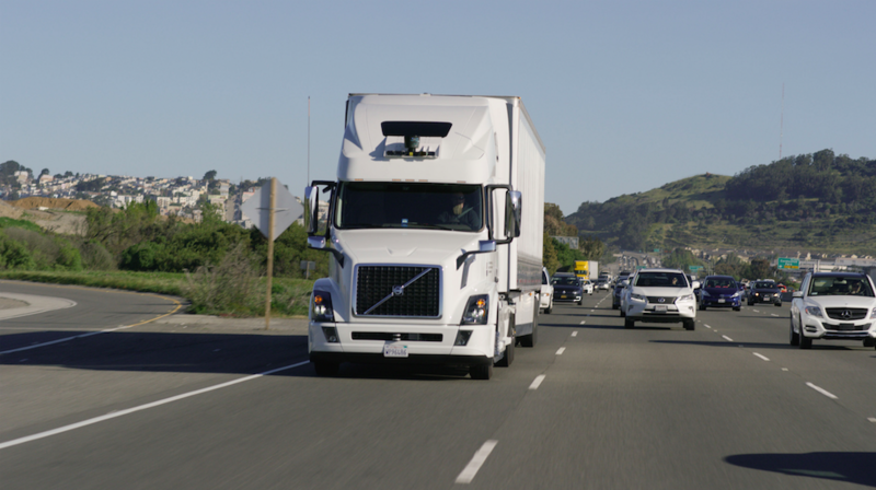 Uber Freight uses an app to link trucking companies with businesses that need to ship their goods.