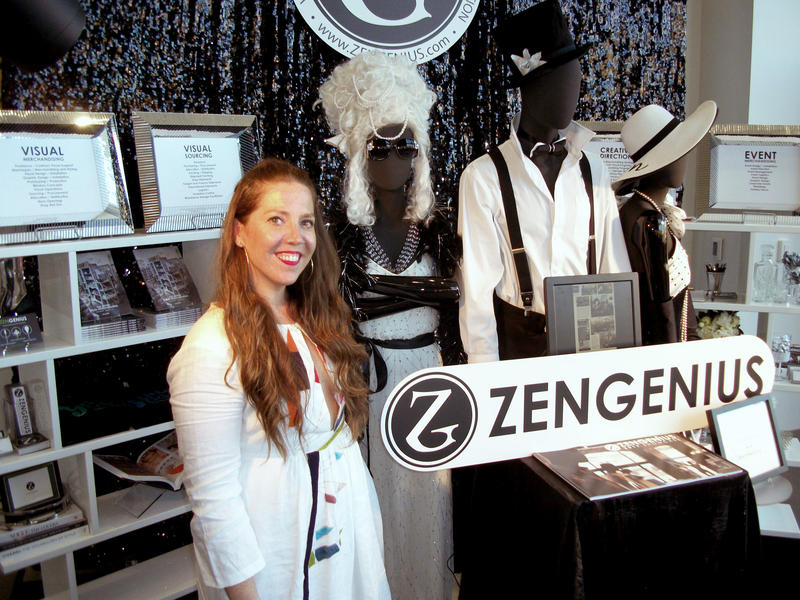 "Carrie Notaro is with ZenGenius, a Columbus-based ""visual merchandising"" firm that helps make stores more appealing to customers."