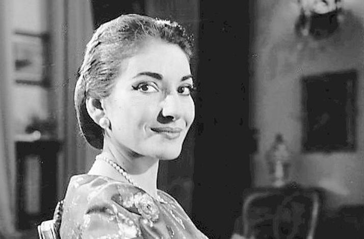 Maria Callas in 1958