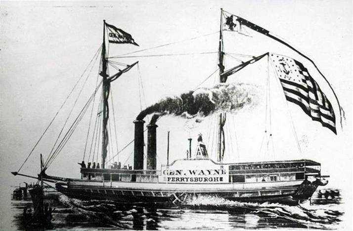 Anthony Wayne steamer