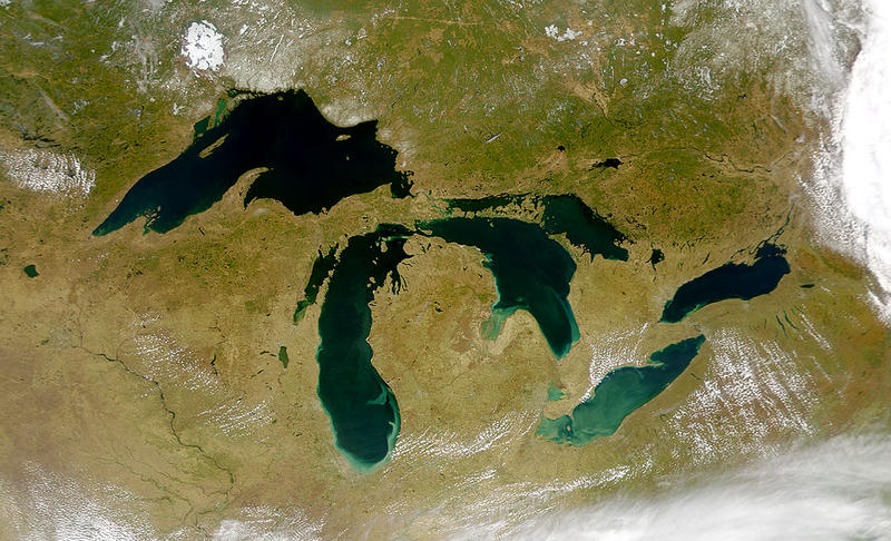 Algae blooms in Lake Erie have caused problems with Toledo's drinking water.