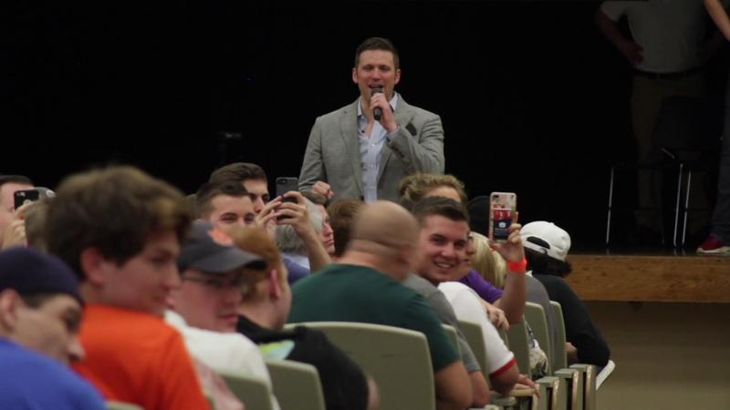 Richard Spencer speaks at Auburn University
