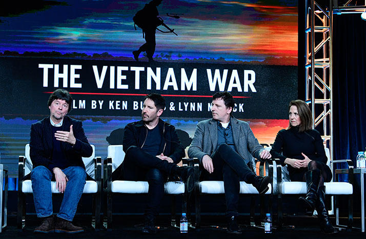 Ken Burns, Lynn Novick discuss The Vietnam War