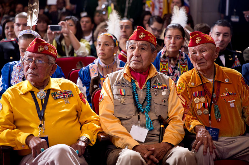 Audience members at the White House Tribal Nations Conference in 2013.