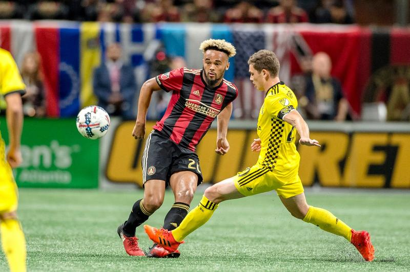 After beating Atlanta United in free kicks, Columbus Crew will move on to face NYC in the MLS playoffs.