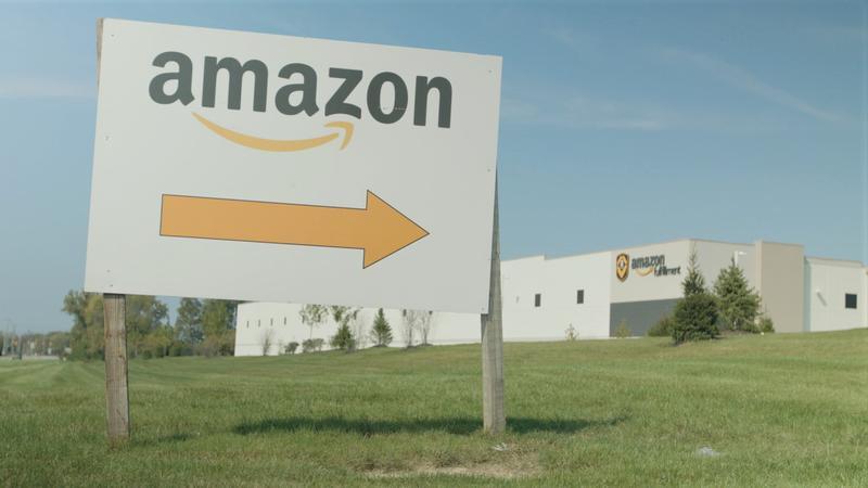 Amazon warehouse in Groveport.