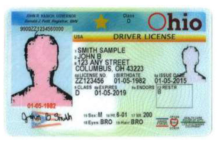 Ohio Drivers' License