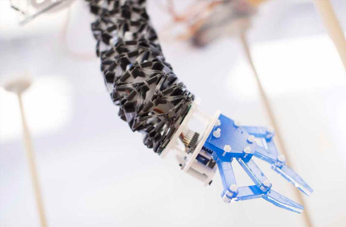 The origami inspired TWISTER robot has the potential to be used in manufacturing, surgery, and even space.