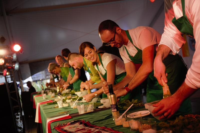 Columbus Italian Festival held the inaugural Columbus Pesto Championship on Sunday.