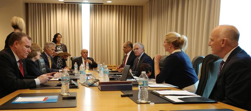 UC's trustees met in executive session to discuss a threatened lawsuit.