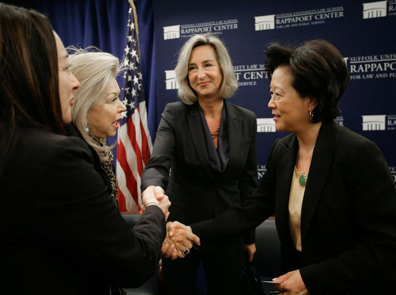 Photo from Women in Politics event at the Rappaport Center in 2011