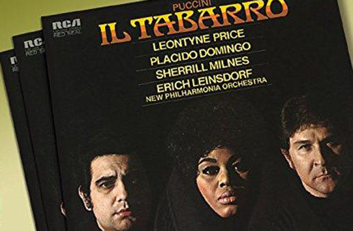 Sony Classical re-introduced opera fans to this 1971 recording of Giacomo Puccini's 'Il Tabarro,' re-releasing it in October 2017.