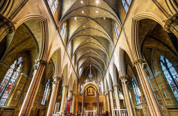 interior of St. Joseph Cathedral