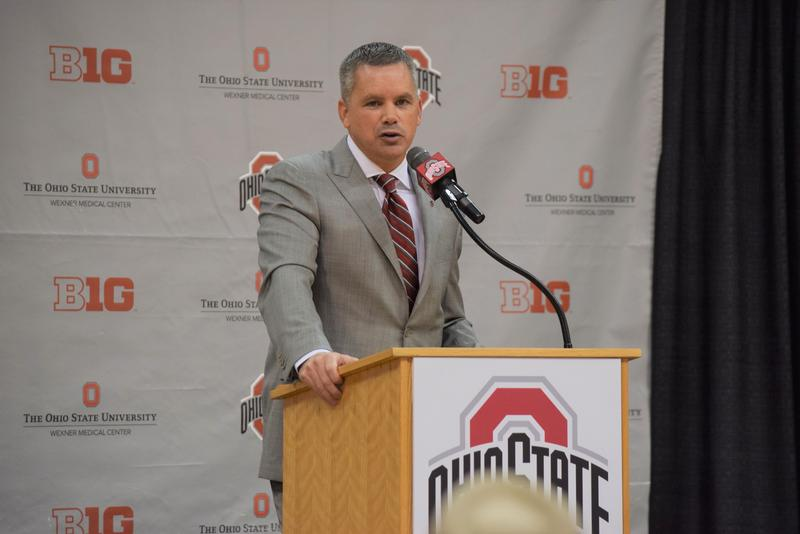 Chris Holtmann, Ohio State men's basketball coach, led Butler's team before coming to Columbus.